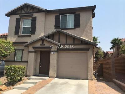 Henderson Single Family Home For Sale: 1158 Paradise Home Road