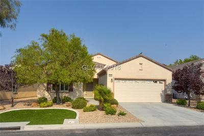 Henderson Single Family Home Under Contract - No Show: 2518 Starlight Valley Street