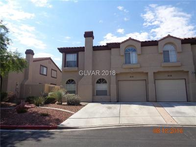 Henderson Condo/Townhouse Under Contract - No Show: 2605 Smoke Canyon Avenue
