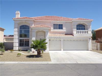 Las Vegas Single Family Home For Sale: 1850 Sky Flower Court