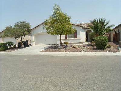 North Las Vegas Single Family Home Under Contract - No Show: 5116 Ruby Sunset Street