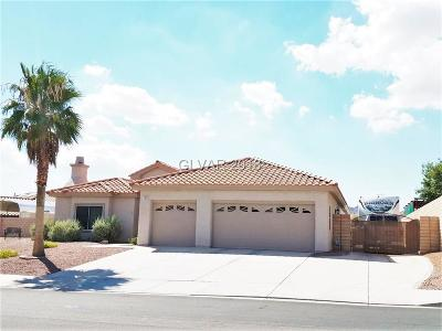 Boulder City Single Family Home For Sale: 782 Fairway Drive