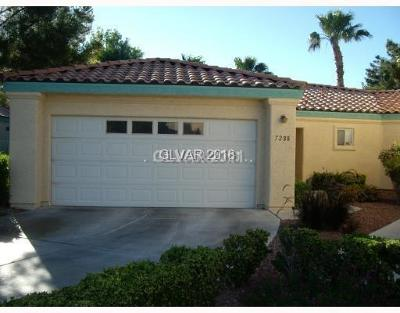 Las Vegas Condo/Townhouse For Sale: 7288 Vista Bonita Drive