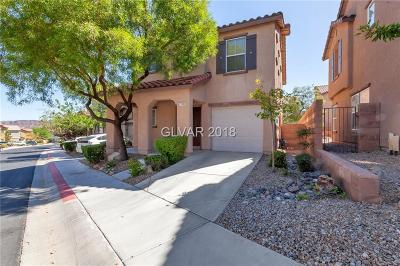 Henderson Single Family Home For Sale: 1170 Gecko Road