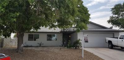 Las Vegas Single Family Home For Sale: 7409 Aragon Street