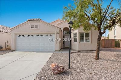 Las Vegas NV Single Family Home Under Contract - No Show: $276,000