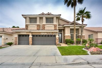 Las Vegas, North Las Vegas, Henderson Single Family Home For Sale: 3076 Paseo Mountain Avenue