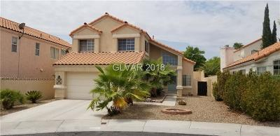 Las Vegas Single Family Home For Sale: 2749 Canasta Court