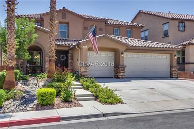 North Las Vegas Single Family Home For Sale: 3021 San Niccolo Court