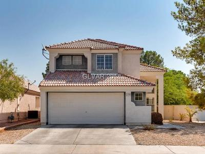 Las Vegas Single Family Home For Sale: 2208 Hunt Club Street
