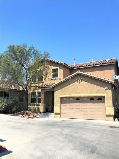 Henderson Single Family Home For Sale: 544 Fork Mesa Court