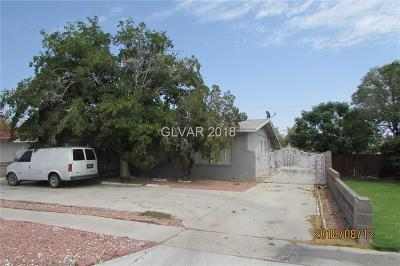 Las Vegas Single Family Home For Sale: 1117 Westwood Drive