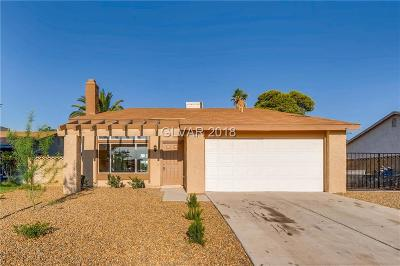 Las Vegas Single Family Home For Sale: 3965 Belhaven Street