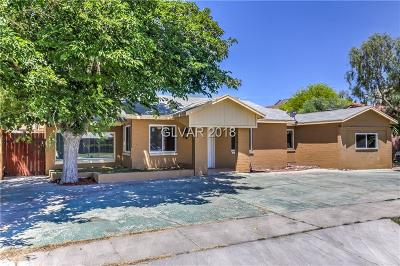 Las Vegas Single Family Home For Sale: 1122 Westwood Drive