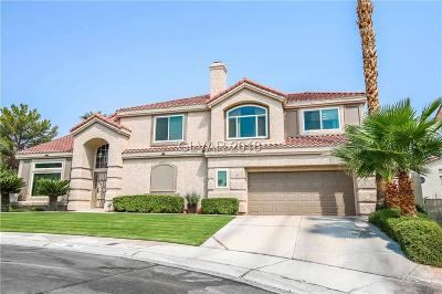 Las Vegas Single Family Home For Sale: 7632 Delaware Bay Drive