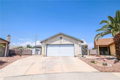 Las Vegas Single Family Home Under Contract - Show: 4611 Bumblebee Circle