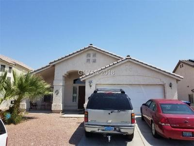 North Las Vegas Single Family Home For Sale: 516 Count Avenue