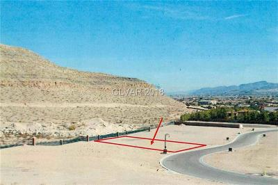 Las Vegas Residential Lots & Land For Sale: 15 Olympia Canyon Way
