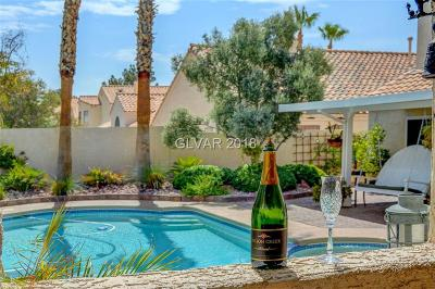 Las Vegas Single Family Home Under Contract - No Show: 8348 Squaw Valley Avenue