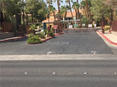 Las Vegas NV Condo/Townhouse For Sale: $156,900
