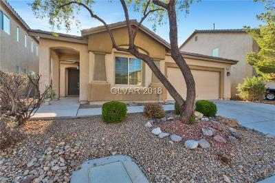 Las Vegas Single Family Home For Sale: 3451 Spotted Sandpiper Street