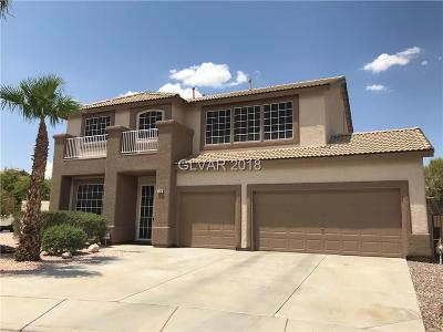 Las Vegas, North Las Vegas, Henderson Single Family Home For Sale: 1774 Garden Ridge Court