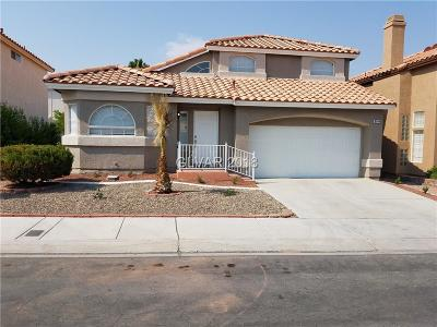 Las Vegas Single Family Home For Sale: 8744 Autumn Wreath Avenue