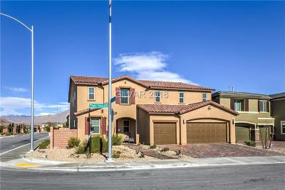 Las Vegas Single Family Home Under Contract - No Show: 5536 Powell Prairie Avenue