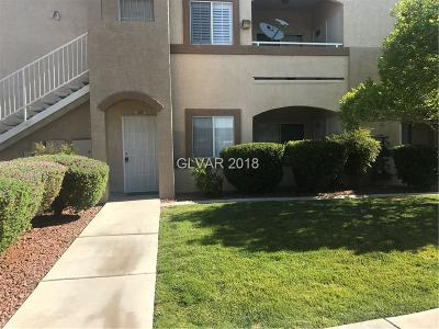 Las Vegas Condo/Townhouse For Sale: 3400 Cabana Drive #1081