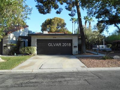 Las Vegas Condo/Townhouse For Sale: 2511 Palmera Drive