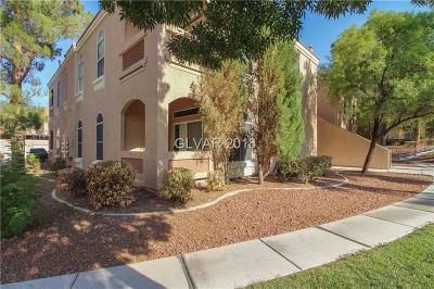 Henderson NV Condo/Townhouse Under Contract - No Show: $199,900