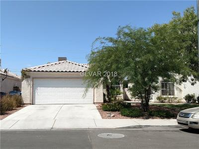 Las Vegas Single Family Home For Sale: 1837 Sierra Hills Way