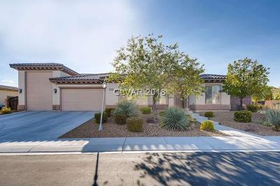 North Las Vegas Single Family Home Under Contract - No Show: 4717 Estate Ranch Street