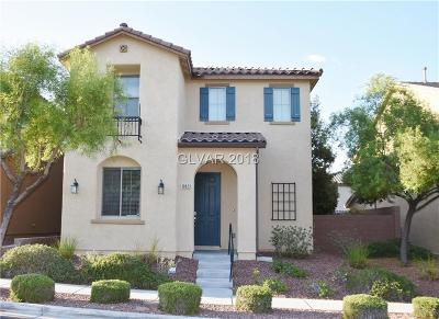 Las Vegas Single Family Home For Sale: 10823 Mason Hill Avenue