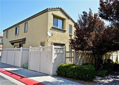 North Las Vegas Single Family Home Under Contract - No Show: 719 Sea Harbor Court