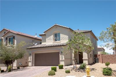 Las Vegas Single Family Home For Sale: 6484 Haypress Court