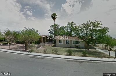 North Las Vegas NV Single Family Home For Sale: $156,900
