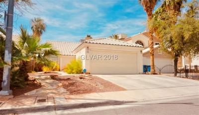 Las Vegas Single Family Home For Sale: 1915 Corsage Court
