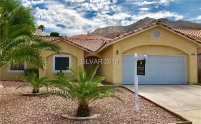 Las Vegas NV Single Family Home Under Contract - Show: $265,000