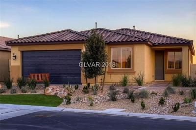 Las Vegas Single Family Home For Sale: 5917 Peridot Falls Avenue #Lot 115