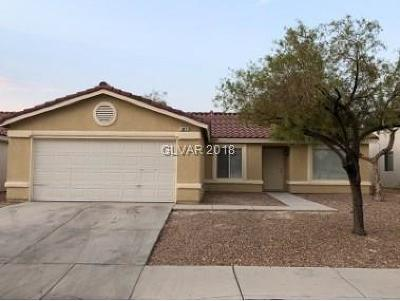 North Las Vegas Single Family Home Under Contract - Show: 3011 Hammer Lane