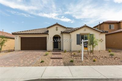 Las Vegas Single Family Home For Sale: 5601 Silver Cascade Avenue