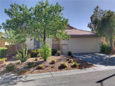 Las Vegas Single Family Home For Sale: 4945 Monteleone Avenue
