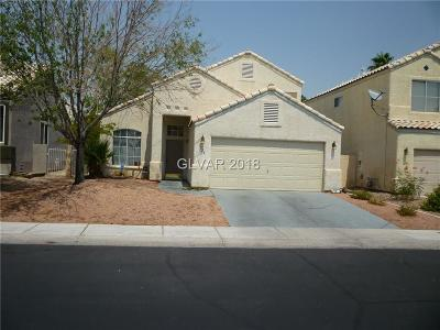Las Vegas Single Family Home For Sale: 7720 Beach Falls Court