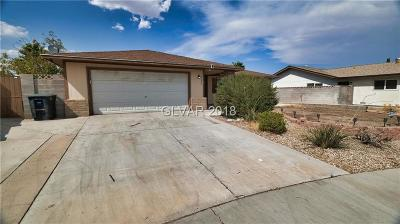 Las Vegas Single Family Home For Sale: 7220 Eve Court