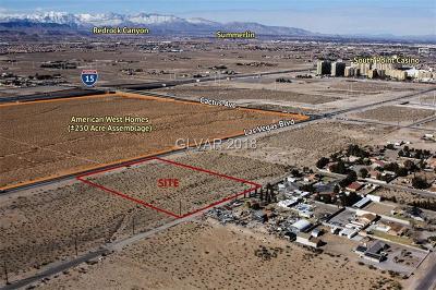 Las Vegas Residential Lots & Land For Sale: 10700 Giles Street