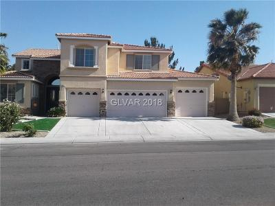 North Las Vegas Single Family Home Under Contract - No Show: 1407 Silent Sunset Avenue