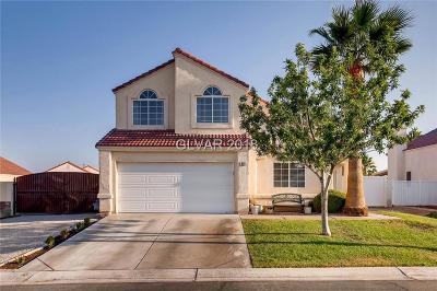 North Las Vegas NV Single Family Home For Sale: $270,000