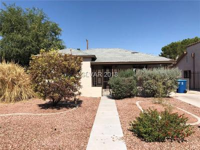 Clark County Single Family Home Under Contract - No Show: 610 8th Street