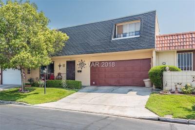 Las Vegas Condo/Townhouse For Sale: 3661 Mt Vernon Avenue